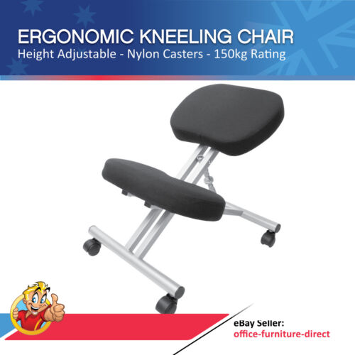 Kneeling Chair, Ergonomic Kneel Desk Chairs, Typist Office Computer Home Physio <br/> *FREE FAST Delivery* Good Warranty Easy Assembly SAVE $