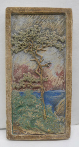 Claycraft Vintage Scenic California Tile