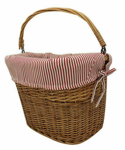 X Tech Basket Front Country Fabric Wicker Quick Release