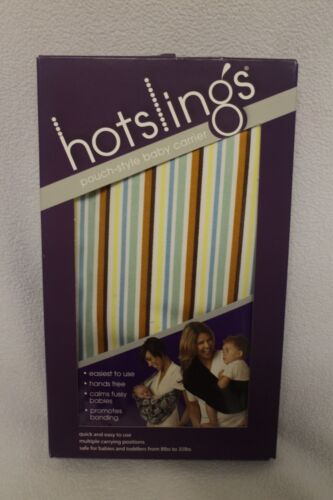 THE ORIGINAL HOTSLINGS BABY CARRIER - STRIPE IN SIZE 5
