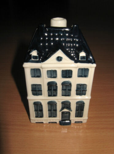 KLM Airlines Bols Canal House #48 Blue Delft Amsterdam