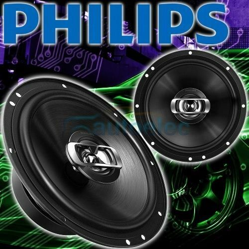 """Philips Csq606 160W Car Audio Stereo System Speakers Pair 152cm 6"""" 2 Way"""