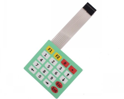 5pcs 4x5 Matrix Array 20 Key Membrane Switch Keypad Keyboard 4*5 Keys F Arduino