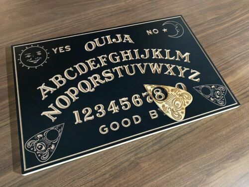 Engraved Wooden Spirit Ouija Board With Planchette Crafted in Australia