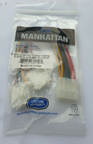22 PCS OF MANHATTAN 301503 8-Inch Power Cable (301503)(R3S5.4B2)