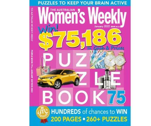 The Australian Women's Weekly Puzzle Book Issue 51 May 2019 - 260 PUZZLES