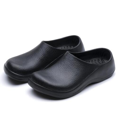 Men Chef Shoes in Kitchen Nonslip Safety shoes Oil & Water Proof for Cook