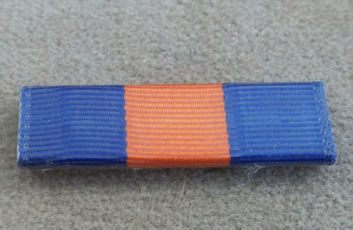 US Army JROTC Optional Ribbon Award Plastic Covered With Crimped Back