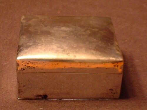 Antique Signed Egyptian .800 Silver Box