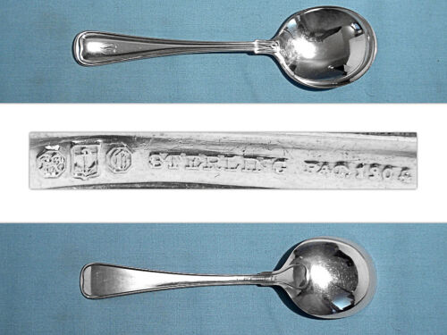 GORHAM STERLING GUMBO SOUP SPOON(S) ~ OLD FRENCH ~ MONO D