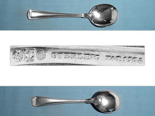GORHAM STERLING CREAM SOUP SPOON(S) ~ OLD FRENCH ~ NO MONO