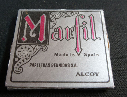 ANTIQUE CIGARETTE ROLLING PAPER MARFIL EARLY 1900 TOBACCIANA COLLECTIBLES 014CC