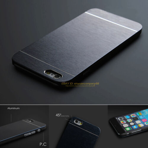 Luxury Ultra-thin Metal Hard Back Case Cover For Apple iPhone SE 4 5 6 6s 7 Plus