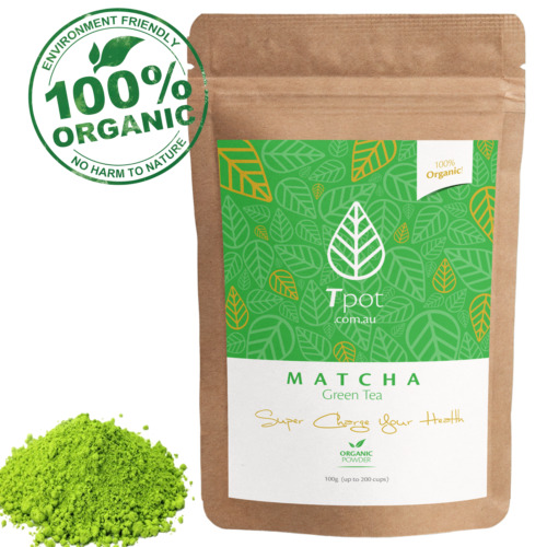 Matcha Green Tea Powder - ORGANIC Japanese - Latte - Up to 200 Serves <br/> FREE eBook With Every Purchase!