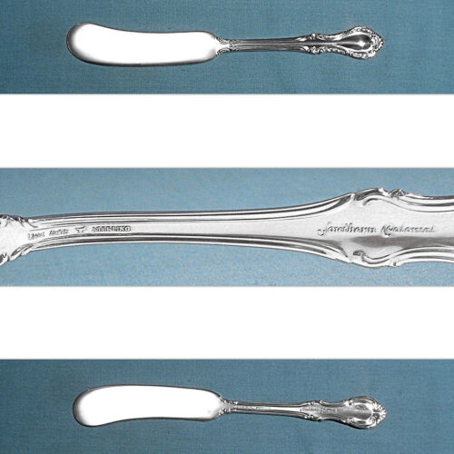 FINE ARTS STERLING FLAT HANDLE BUTTER SPREADER(S) ~ SOUTHERN COLONIAL ~ NO MONO