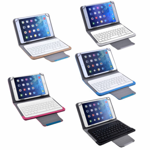 Universal bluetooth Wireless Keyboard Leather Cover for 7 Inch 8 Inch Tablet