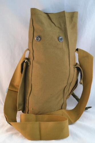 Genuine Soviet Russian Army Surplus Canvas Military Shoulder Gas Mask Bag GP-5Original Period Items - 13983