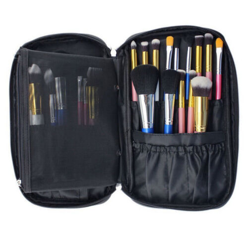 New Pro Pen Pocket Case Organizer Cosmetic Pouch Brush Holder Makeup Travel Bag