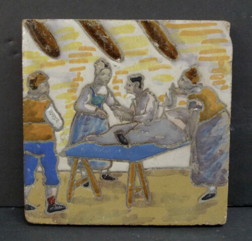 Vintage Don Quixote Tile Spain (2)