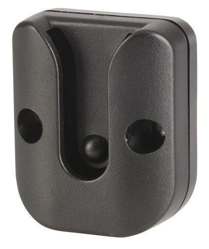 Plastic Microphone Bracket clip for UHF Radio with steel mounting screws