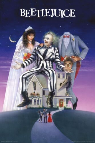 Beetlejuice - One Sheet Movie Poster 24x36 - Keaton Burton Classic 241357