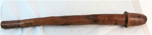 EARLY 20TH CENTURY WAR CLUB FROM THE LOYALTY ISLANDS C1920'S