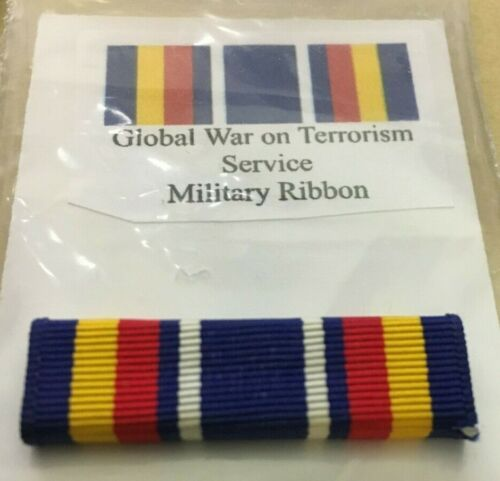 """US MILITARY RIBBON """"GLOBAL WAR ON TERRORISM """"  SINGLE MOUNT INCLUDEDOther Militaria (Date Unknown) - 66534"""