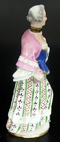 NO RESERVE ANTIQUE 19TH CENT MEISSEN FIGURAL PERFUME SCENT BOTTLE