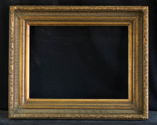"Antique Reproduction Ornate Gold Frame 12"" x 16"", 2 1/2"" Wide, 2"" Thick"