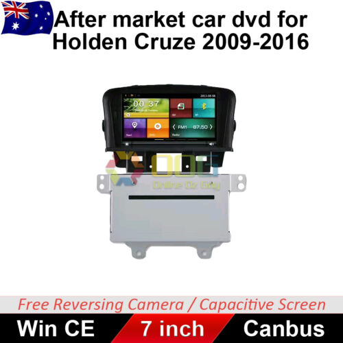 "7"" Car DVD GPS Navigation Head Unit For Holden Cruze 2009-2016 stereo"