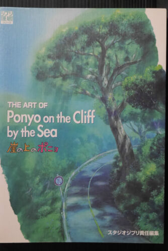NEW Ponyo on the Cliff by the Sea Girl Fish Pin Badge