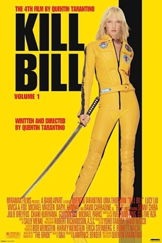 KILL BILL - MOVIE POSTER 24x36 - TARANTINO 46824
