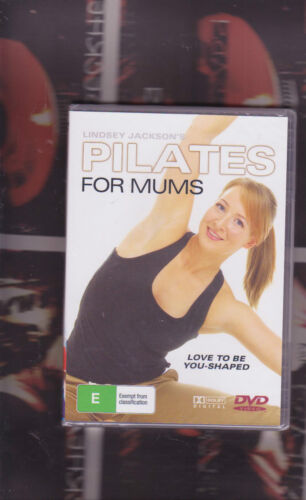 lindsey jackson's pilates for mums (new and sealed)    exercise/stretching