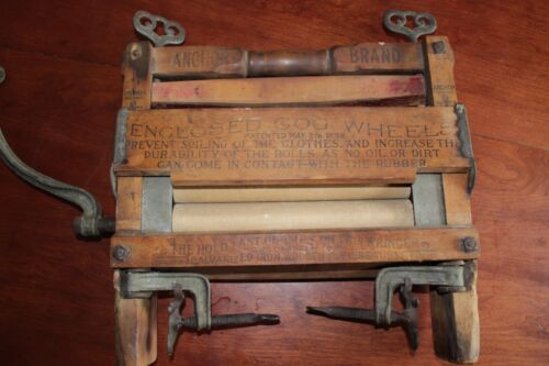 Rare, Antique Anchor Brand Lovell Pat. 1898 Clothes Wringer Washer