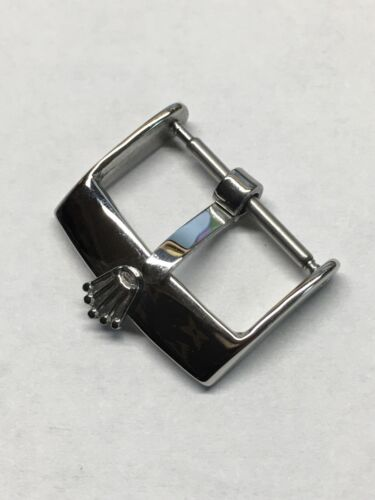 VINTAGE STAINLESS STEEL BUCKLE 20mm. STRAP FOR ROLEX