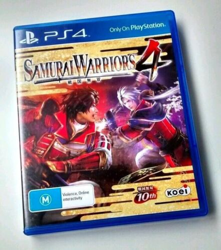 Samurai Warriors 4 PS4 *NEW disc*Aussie *ACTUAL PIC of game * Sydney *Be quick!