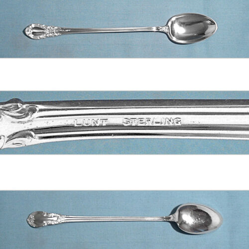 LUNT STERLING ICED TEA SPOON(S) ~ AMERICAN VICTORIAN ~ NO MONO