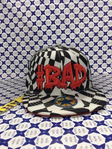 Cappello SHOP ART Bad Cappellino - Bianco / Nero - SH1414