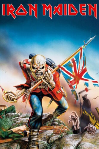 IRON MAIDEN - TROOPER POSTER 24x36 - MUSIC BAND 51533