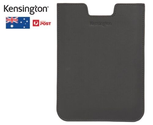 Kensington Simple Sleeve Carry Case Protect For Kindle Touch Sleek Black Leather