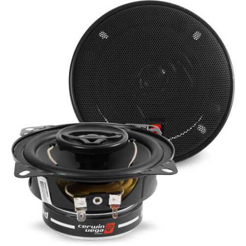 """CERWIN-VEGA 250W 4"""" 2-Way XED Series Coaxial Car Stereo Speakers   XED42"""