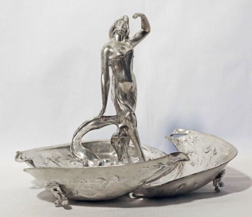 ART NOUVEAU WMF silver-plated Tray German Austrian silver plated silverplated