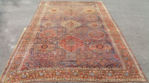 11 x 17 ft. 19th Century Antique Ghashghaei / Qashqai Persian Rug, Palace Size!