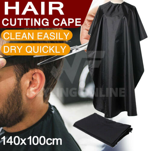 Hair Cutting Gown Barber Gown Cloth Hairdressing Cape Nylon Styling AU