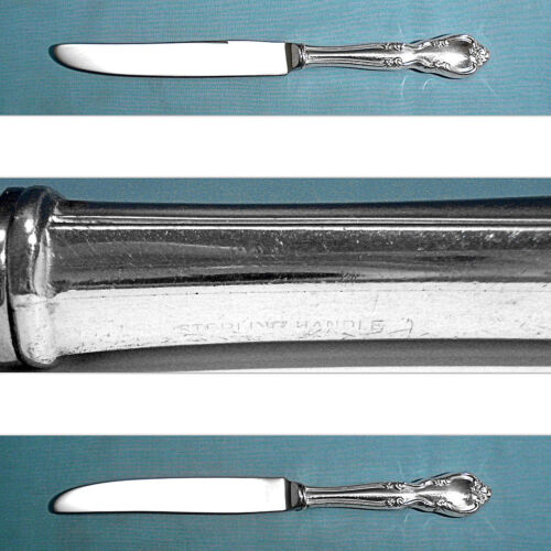 EASTERLING STERLING NEW FRENCH HOLLOW KNIFE ~ AMERICAN CLASSIC ~ NO MONO