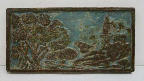 CALCO Vintage Tile with Castle and Trees California