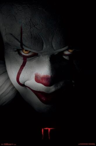 IT MOVIE - PENNYWISE POSTER - 22x34 - CLOWN KING 16334