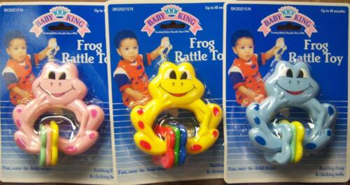 New Baby King Frog Rattle, Baby Shower Gift