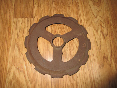 * Vintage Cast Iron Farm Seeder - Perfect for Re-Purposing - Steampunk