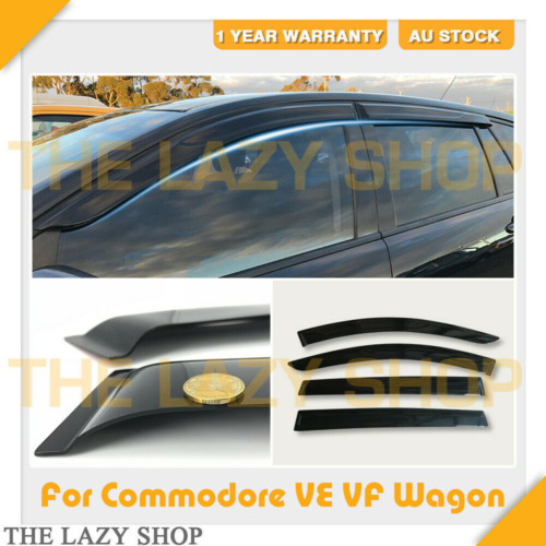 Weathershields Weather shields for Holden Commodore VE VF Wagon Window Visors